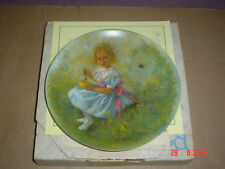 Reco International Corp Collectors Plate LITTLE MISS MUFFET Boxed