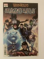 War of the Realms New Agents of Atlas #1 Marvel Comics 2019 High Grade Copy