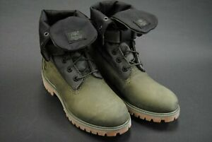 TIMBERLAND PREMIUM L/F GAITER BOOT MEN'S SIZES DARK GREEN GRAPE LEAF NEW W/O BOX