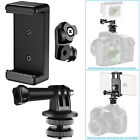 Neewer 3-in-1 Hot Shoe Mount Adapter Kit for Attaching Phone or GoPro Hero