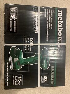 Metabo HPT WH 18DDX 18V 1/2 in Cordless Lithium-Ion Impact Driver BRAND NEW!!