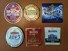 Lot of 6 different beer labels United Kingdom