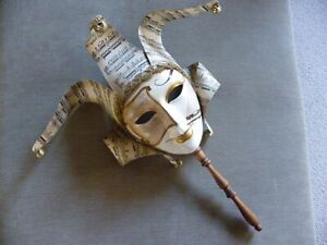 Authentic, hand-made Venetian mask, with certificate of authenticity