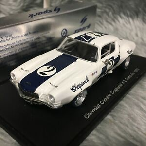 Spark 1:43 Chevrolet Camaro Chaparral #2 Trans-Am 1970 Ed Leslie S2603