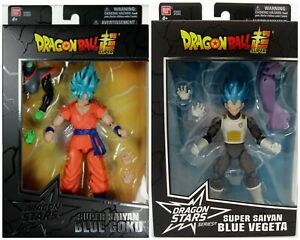 Bandai Dragon Ball Dragon Stars Super Saiyan Blue Goku & Vegeta set.
