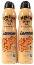 2 Hawaiian Tropic Silk Hydration Sunscreen UVA & UVB SPF15 Broad Spectrum 6oz