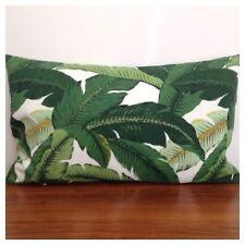 *NEW* 50x30cm Lumbar Tommy Bahama Green & White Island Hopping Cushion Cover