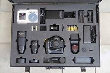 Nikon Limited Edition F4 35 70 mm 80 200  F4E Profi Case 17/ 100 LOT rare  84186