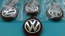 Set of 4 Genuine VW GOLF 7 Alloy Wheel Centre Caps 5G0601171BLYC 66mm