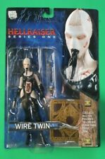 "Neca Hellraiser Series One WIRE TWIN 7"" Action Figure, 2003, Mint on Card"
