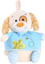 Baby Kuscheldecke Hund 117x97x12cm Kuscheltier decke Babydecke