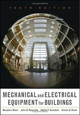 Mechanical and Electrical Equipment for Buildings by Grondzik and Kwok