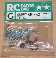 Tamiya 58152 Isuzu Mu/XC/CC01, 9415137/19415137 Metal Parts Bag G, NIP