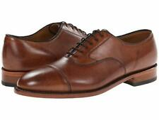 Johnston & Murphy Melton Leather Tan Cap-Toe Shoe Men's Size 7.5 D,M  ( 435 )