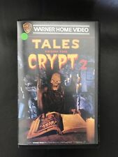 Tales From The Crypt 2 Ex-Rental Vintage Big Box VHS Tape English dutch subs