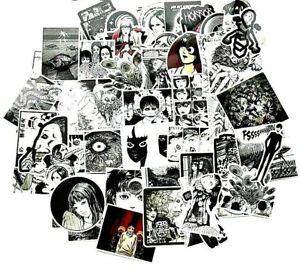 20  Anime Junji Ito Fujiang Tomie Goth Horror Stickers Laptop  / PC'S Manga