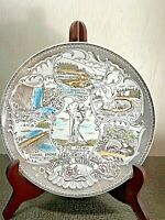 Vintage 1960's Ceramic Yellowstone National Park Souvenir Plate