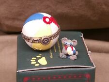 Boyds Resin Gidget's Beach ball withShades McNibbles Box New