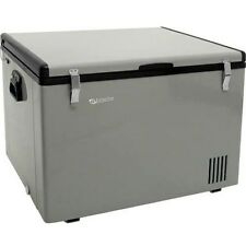 63 Qt. Portable Chest Fridge & Freezer, Compact 12 Volt Outdoor RV Electric Cool