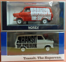 Norev Limited edition MK1 Ford Transit.1/43rd White and red vans.