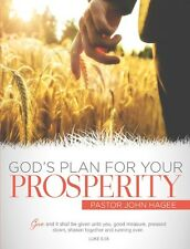 God's Plan for Your Prosperity - 3 Dvds by John Hagee - July / Aug Sale !