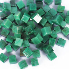 200.00 Cts Earth mined Unpolished Colombian Emerald Gemstone Rough Cubes Lot