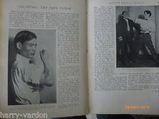 Jiu Jitsu Martial Art Chas Jarrott Motor Car Cyclist Soldiers Old Article 1904