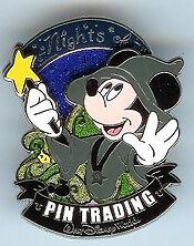 Disney Nights of Pin Trading Magician Mickey Mouse Pin
