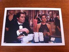James Bond Postcard - License to Kill - Timothy Dalton & Carey Lowell - NEW