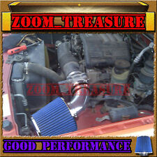 BLACK BLUE 1998-2004 ISUZU RODEO/TROOPER/PASSPORT/SLX 3.2/3.5L V6 AIR INTAKE KIT