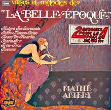 MATHÉ ALTERY la belle epoque 2LP'S 1974 PUNCH frou frou/roses de picardie EX++