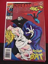 """Spider-Man Vs. Dracula #1 Marvel January 1994 Comic """"The Spider and the Bat"""""""