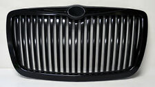 Gloss Black Vertical Front Grill Fits Chrysler 300 300C 2005-2010