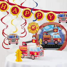 Fire Truck Decorations Kit
