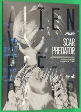 AVP Figure Scar Predator Hot Toys 1/6 scale MMS190