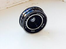 INDUSTAR-69 2.8/28mm Wide Angle Soviet Russian pancake lens M39 EXC