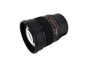 Rokinon 85mm F1.4 High Speed Telephoto Lens for Fuji X - Model 85M-FX