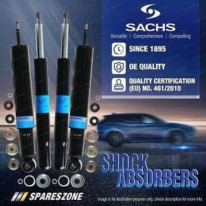 Front + Rear Sachs Shock Absorbers for BMW 7 Series E32 730i 735iL 740iL Sedan
