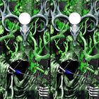 Cornhole Wraps Vinyl Decals Green Camo Bow Hunter Grim Reaper Deer Buck Skull