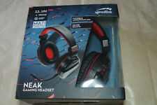 SPEEDLINK NEAK Gaming Headset Suitable for All Devices with One or Two Jack Conn