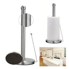 Stainless Steel Toilet Paper Holder Roll Tissue Stand Kitchen Bathroom Tool NEW