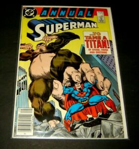 Superman 1987 series annual # 1 mint comic book