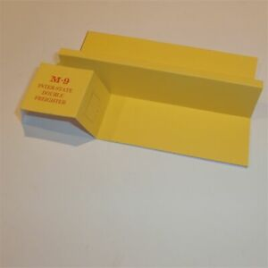 Matchbox Lesney Major Pack 9 a Double Freighter Repro Box Insert only