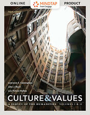 MindTap Cunningham Reich Fichner-Rathus Culture and Values 9th Ed 6 Months