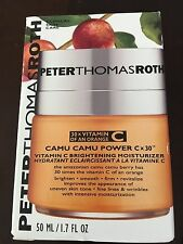 Peter Thomas Roth Camu Camu Power C-X 30 Brightening Moisturizer 1.7 fl oz NIB