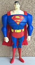"""DC Comics - Superman - 12 """" - Cape Moves - Makes Flying Sound - Eyes Light Up"""