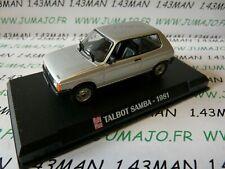 AP36N Voiture 1/43 IXO AUTO PLUS : TALBOT SAMBA 1981