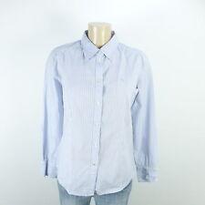 ESPRIT Bluse Hemd Streifen Gestreift Blau Weiß Gr. 36 S