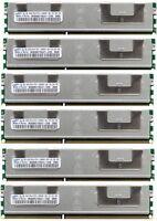 32GB (8x4GB) DDR3 PC3-10600R 1333 ECC Reg  DIMM SERVER Memory RAM IBM HP DELL