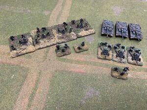 Flames Of War German Heavy Mortars , Stugs And Anti Tank Guns. 15mm Painted